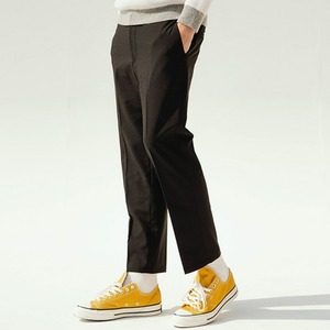[MEN] BANDING SLACKS (BLACK)