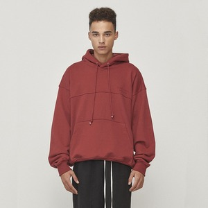 Oversized Hoodie Red (D18F102)