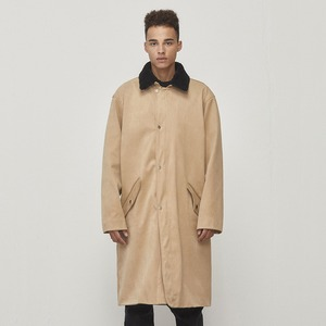 Oversized Long Coat Beige (D18F322)