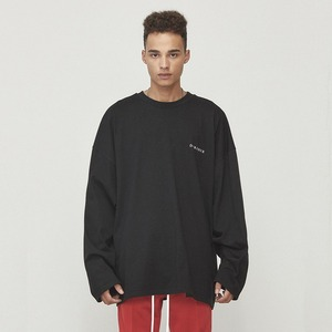 Oversized Long Sleeve T-shirt Black