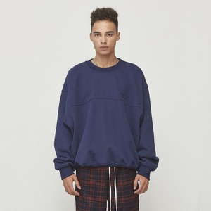 Oversized Sweatshirt Navy (D18F113)