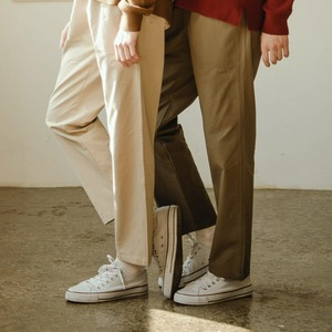 COTTON BANDING PANTS (BEIGE)