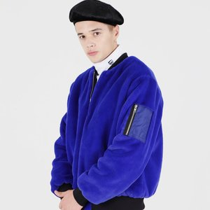 FUR MA-1 FLIGHT JACKET (BLUE)