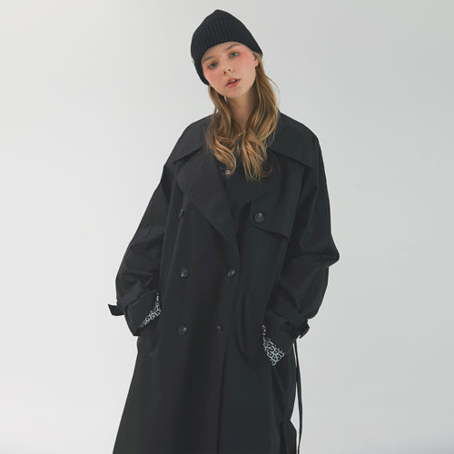 OVER TRENCH - BLACK