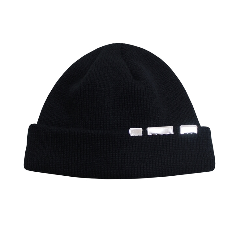 STEEL WATCH CAP - BLACK