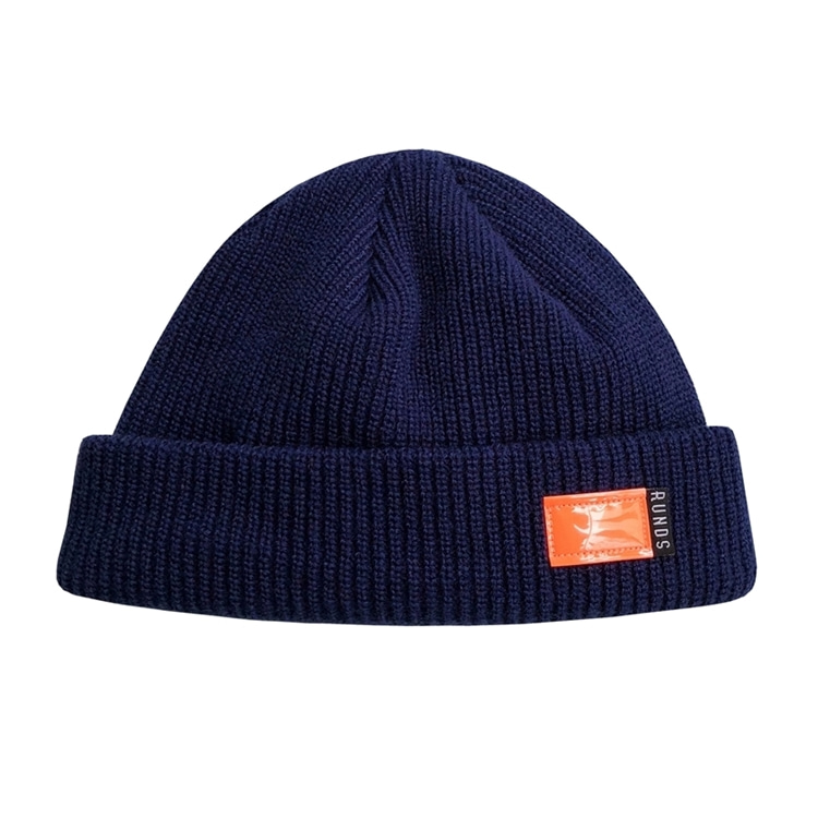 FLUORESCENCE WATCH CAP - NAVY