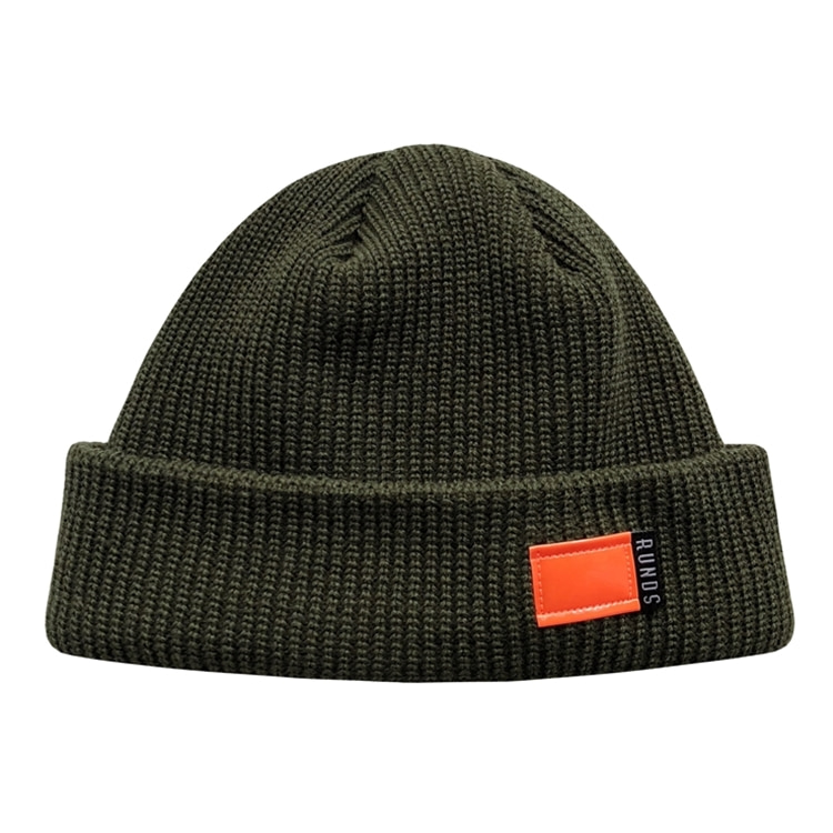 FLUORESCENCE WATCH CAP - KHAKI