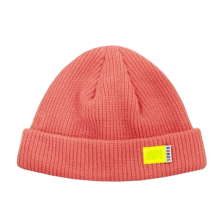 FLUORESCENCE WATCH CAP - PINK