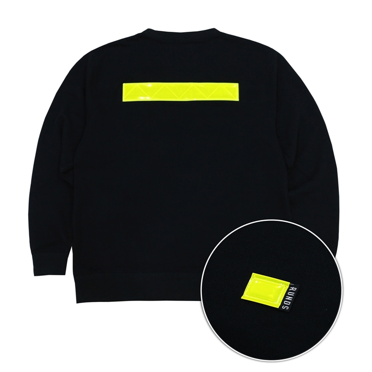 REFLECT SWEATSHIRT - BLACK