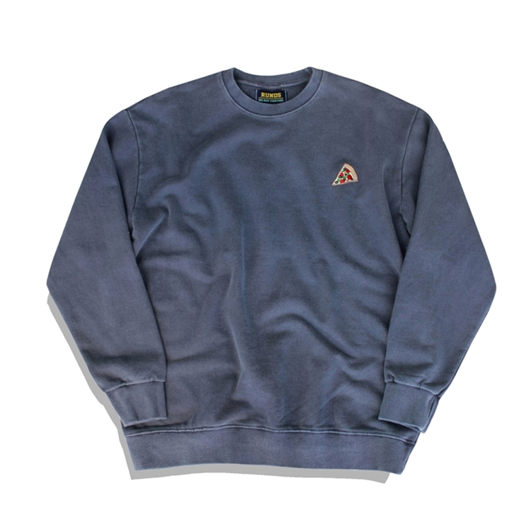 BASIC PIGMENT SWEATSHIRT - CHARCOAL
