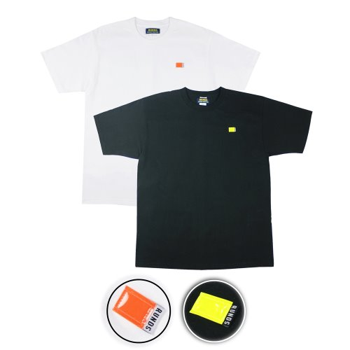 [1+1] REFLECT TSHIRT - 2COLOR