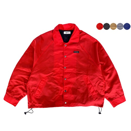 OVERFIT BOX COACH JACKET(5color)(unisex) 오버핏 박스 코치 자켓