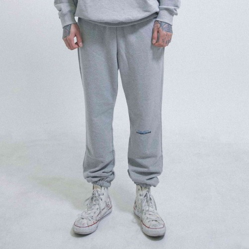 HYPERLINKING SWEATPANTS (GRAY)