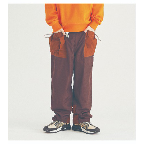 COUNTRY BIG POCKET PANTS (BROWN)