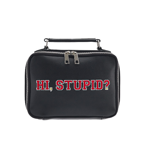 벨보(BELLEBEAU)- STUPID HAND BAG BLACK