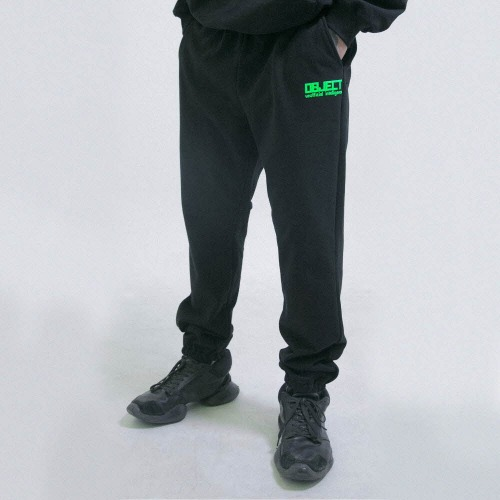 UNOFFICIAL INTELLIGENCE SWEATPANTS (BLACK)