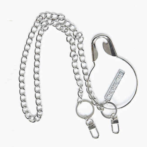 GT19SS14 O SAFETY PIN CHAIN