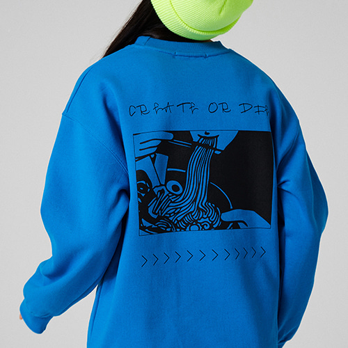 RAMEN SWEATSHIRT_AQUABLUE