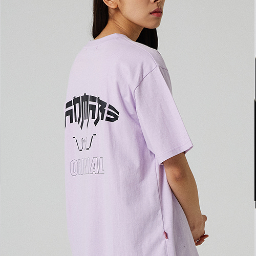 JAPANESE ORIGINAL CARTOON T-SHIRT_LIGHT PURPLE