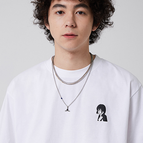 JAPANESE ORIGINAL CARTOON T-SHIRT_WHITE