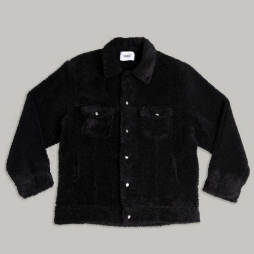 SHERPA TRUCKER JACKET (BLACK)