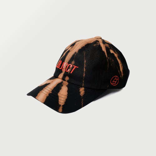 BLEACH OBJECT LOGO CAP (BLACK_RED)