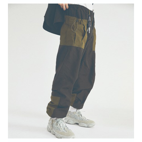 COUNTRY BIG POCKET PANTS (DARK GREEN)
