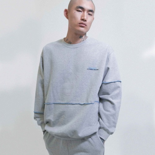 HYPERLINKING SWEATSHIRT (GRAY)