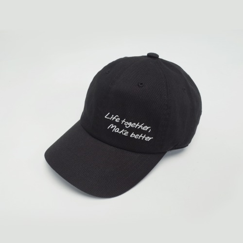 L.T.M.B BALL CAP - BLACK