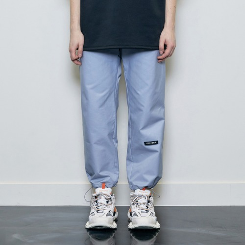 String Jogger Pants Blue