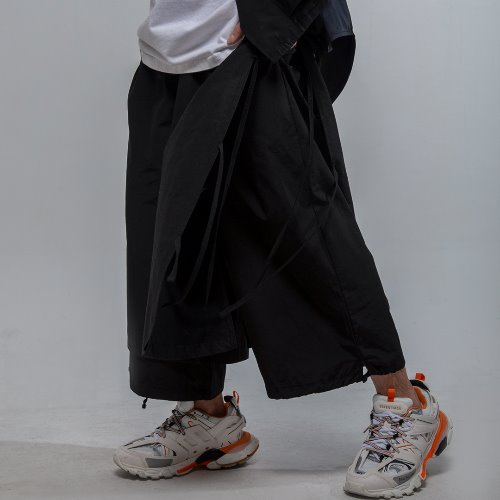 DOUBLE WIDE CROP PANTS
