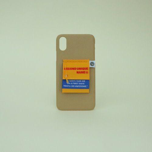 SUN CASE LABEL COFFEE BEIGE
