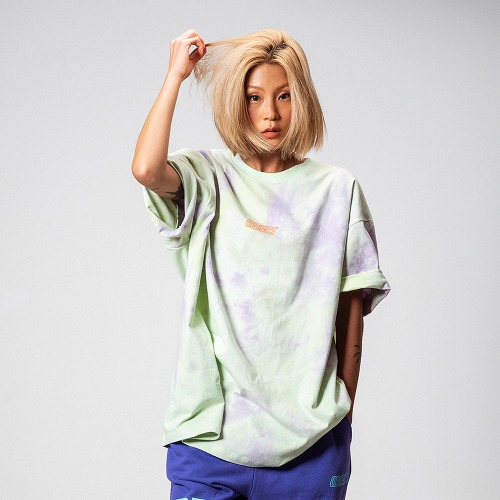 [3차 리오더/] TIE DYE OVERSIZED T-SHIRT (MINT)