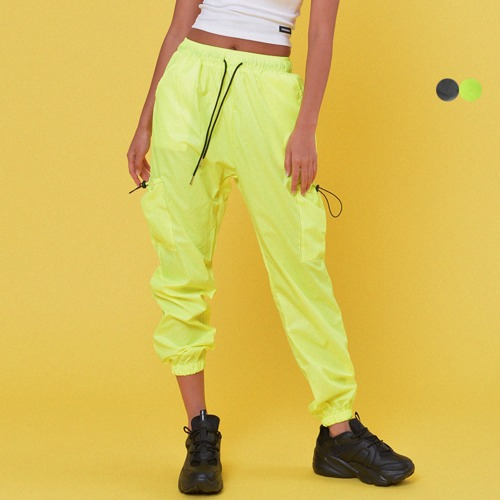 STRING POCKET JOGGER PANTS(3color)(unisex)