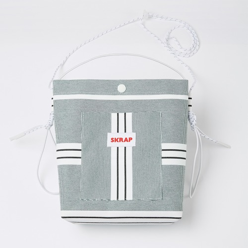 AWNING SACOCHE BAG GREEN STRIPE