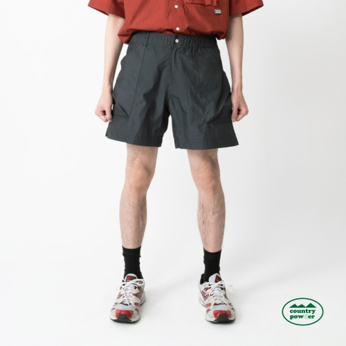 HIKE BANDING CHECK SHORTS (DARK OLIVE)