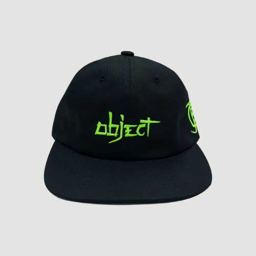 OBJECT 2019 LOGO CAP (BLACK)