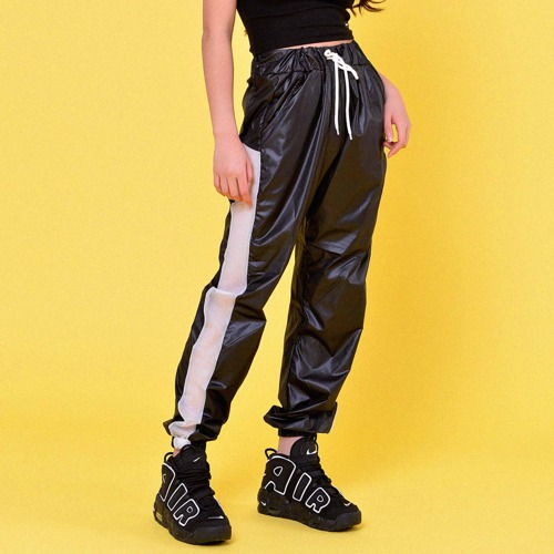 SIDE MESH JOGGER PANTS(2color)