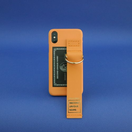 SUN CASE LEATHER CARD DEEP YELLOW