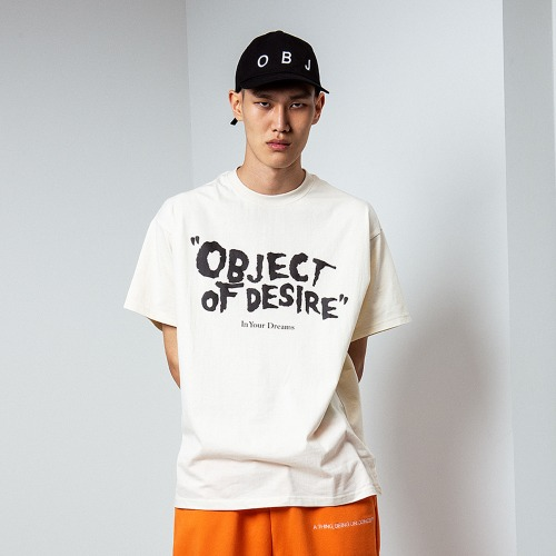 OBJECT OF DESIRE T-SHIRT (BEIGE)