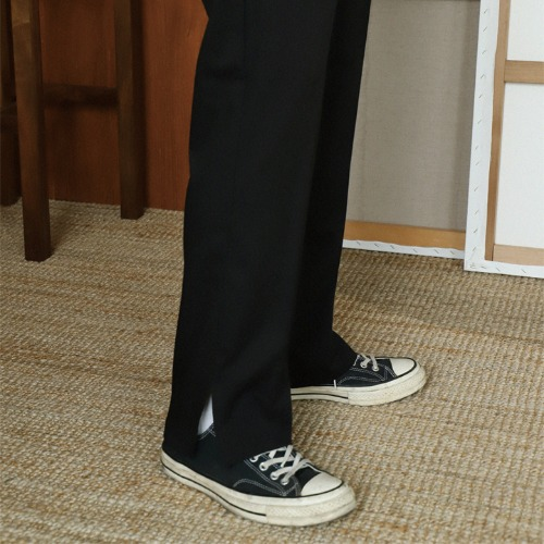 Regular fit slacks (black, gray, beige)