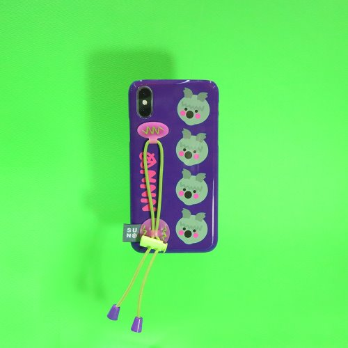 SUN CASE STRING GLOSSY INDIGO PURPLE