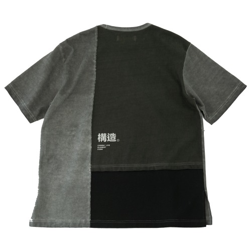 STRUCTURE-T(Washed GREY)