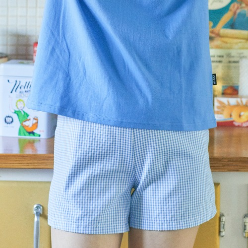 LU SET BANDING PANTS (BLUE)