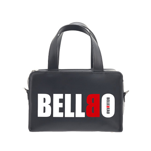 BELLBO 벨보(BELLEBEAU) - BOX TOTE BAG BLACK
