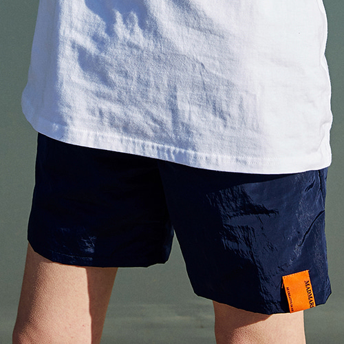 POINT SHORTS_NAVY