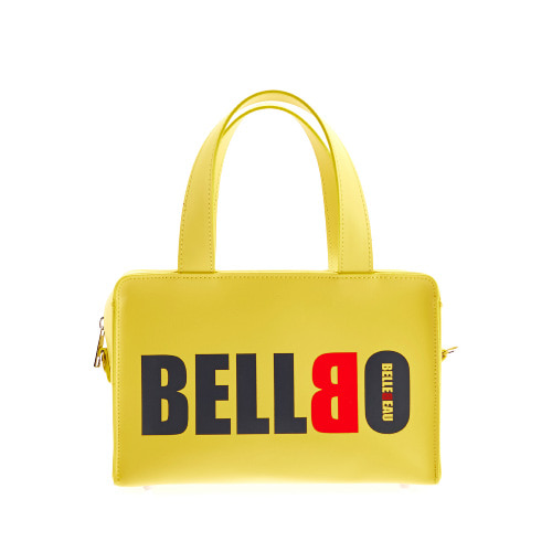 BELLBO 벨보(BELLEBEAU) - BOX TOTE BAG YELLOW