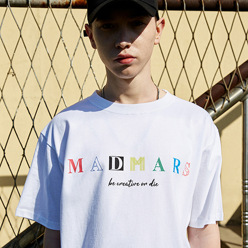 COLOR LOGO T-SHIRTS_WHITE