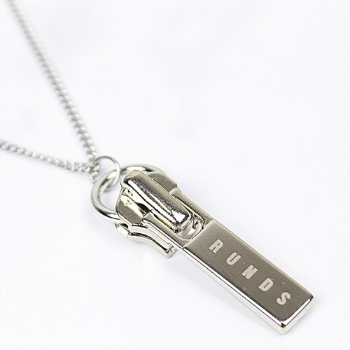 ZIPPER PENDANT NECKLACE