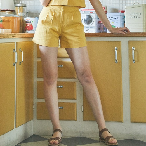 LU TWO PIECES PANTS (YELLOW)
